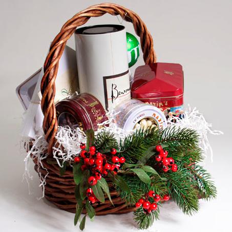 Корзины с подарками фото
