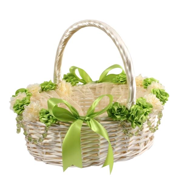 Как красиво оформить подарок в корзин